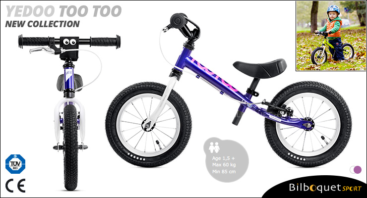 YEDOO Too Too II Running Bike - Violet/White Yedoo