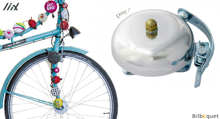 Bike Bell Vintage Silver - Liix Funny Bell Liix