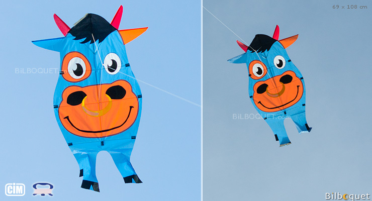 Strong Buddy Bull Single-line Kite 69x108cm Colours in Motion