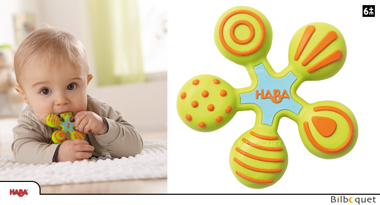 Teething Clutching Toy Star Haba