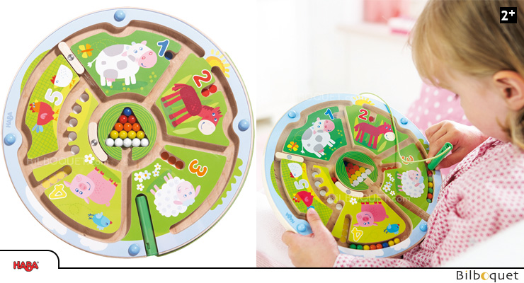 Magnetic Game Number Maze Haba