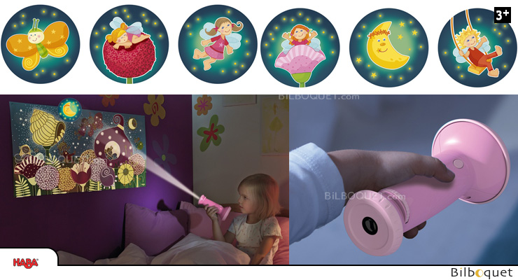 Flashlight Image Projector Dreaming elves Haba