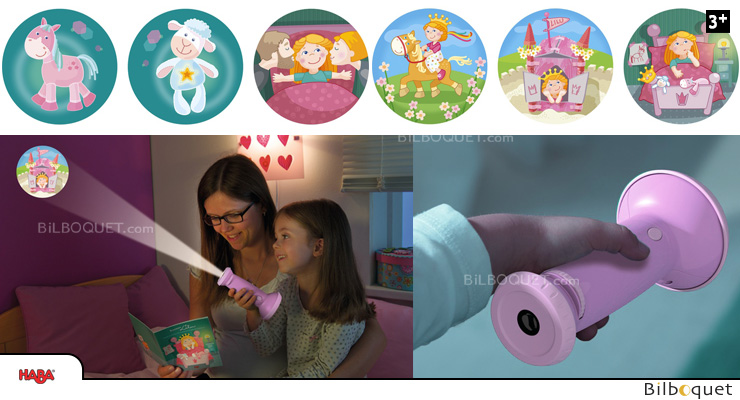 Flashlight Image Projector Princess Lilu Haba