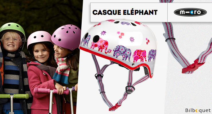 Casque enfant Éléphant - Taille S Micro Mobility Scooters & Kickboards
