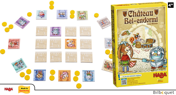 Sleepy Castle - Memory Game Haba