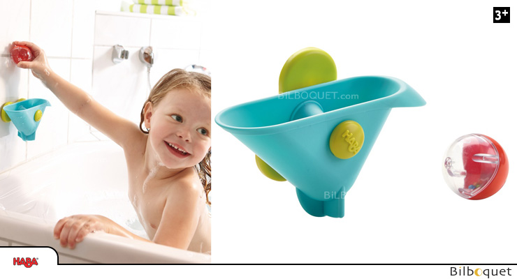 Ball Track Bathing Bliss - Seesaw Bucket Haba