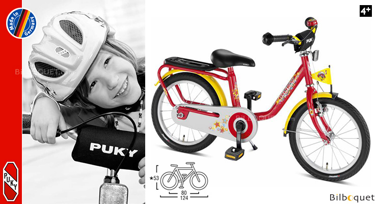 Puky Z8 Children's Bike (18 inch) - Red Puky