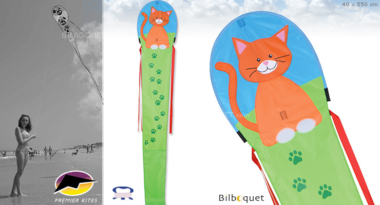 18 Ft. Dragon - Kitty - Kite for kids Premier Kites & Designs