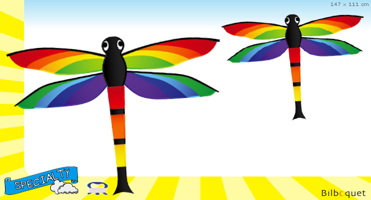 Dragonfly - Large Single-line Kite for kids