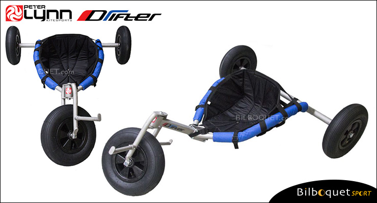 Peter Lynn DRIFTER Kite Buggy with extra-wide wheels Peter Lynn