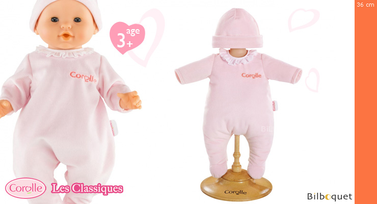 Pink Pajamas for 36cm Doll Corolle