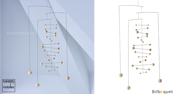 Contrepoint, nature - Mobile Moderne Flensted Mobiles