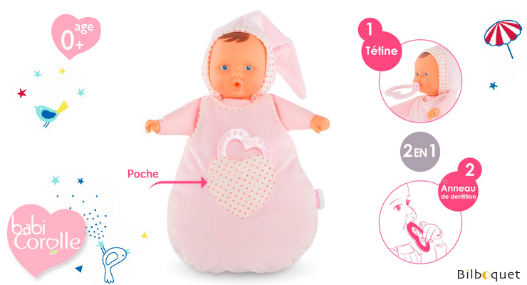 Babysleeper Cotton Flower - 30cm Corolle