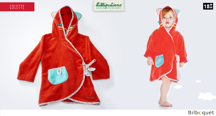Colette dressing gown 18months-4years Lilliputiens