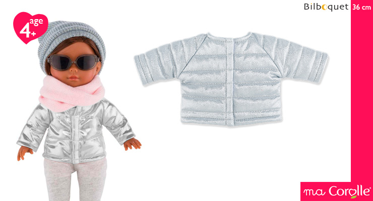 Silvered Jacket for Ma Corolle 36cm Doll Corolle