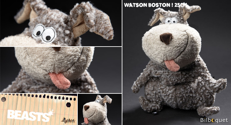 Watson Boston Dog - Beasts - Stuffed Animal 25cm Sigikid