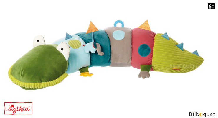 Activity Cushion Crocodile's friends 96cm Sigikid