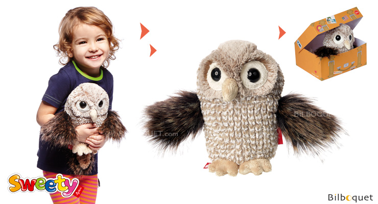 Owl - Sweety Stuffed Animal 20cm Sigikid