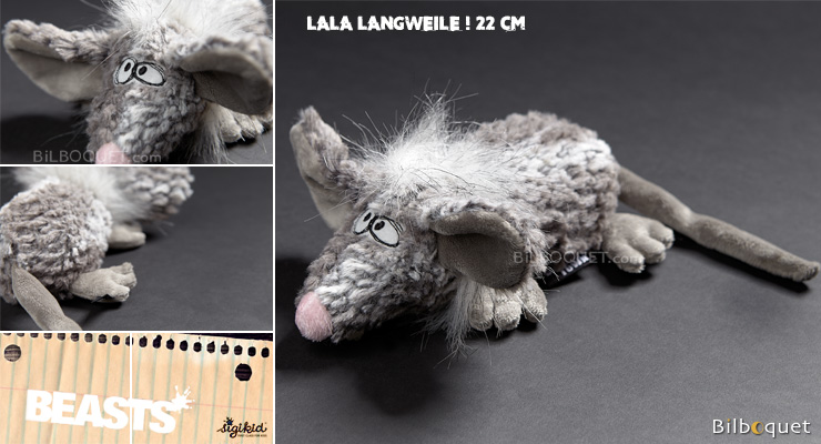 Lala Langweile - Crazy stuffed Mouse 22cm Sigikid