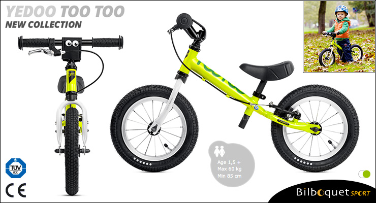 YEDOO Too Too II Running Bike - Green/White Yedoo