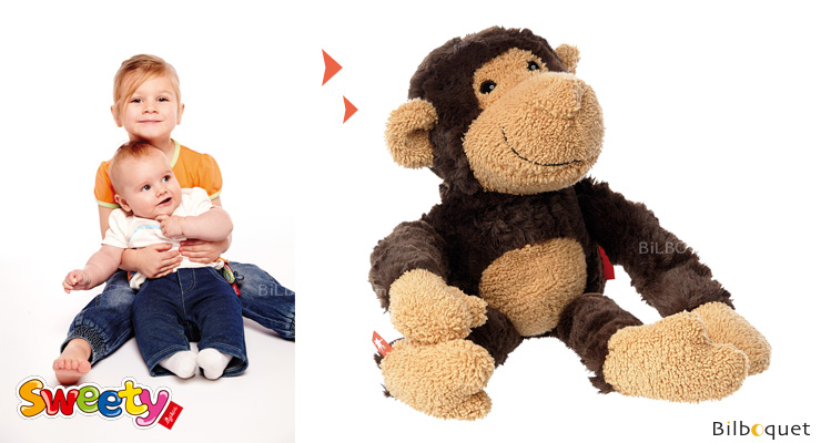 Monkey - Sigikid Sweety Stuffed Animal 33cm Sigikid