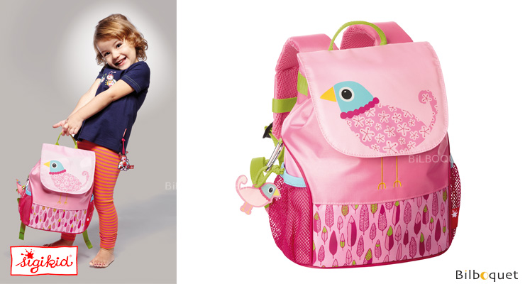 Child Backpack Small 28x22x12cm - Sigikid Finky Pinky Sigikid