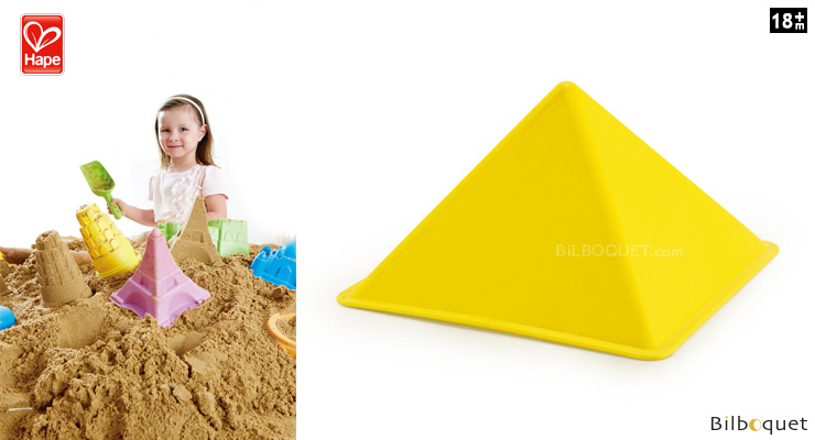 Egyptian Pyramid Sand Mould Hape Toys