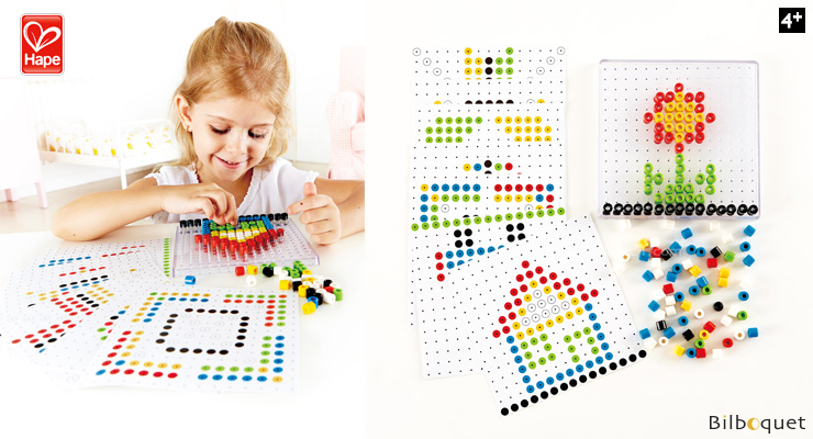Bead Do - Pictures with colourful beads Hape Toys