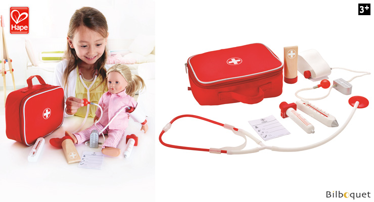 Doctor On Call - Doctor briefcase - Pretend-play Toy Hape Toys