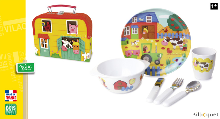 Dish Set - Farm Vilac