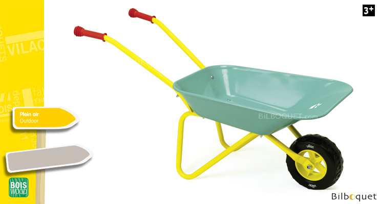 Little Gardener's Wheelbarrow - Metal Toy Vilac
