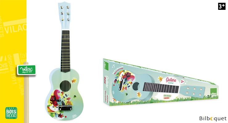 Woodland Guitar - Wooden Toy Instrument Vilac