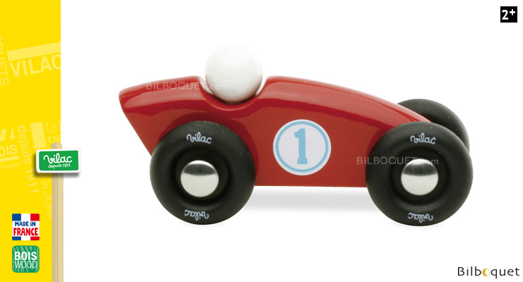 Competition Wooden Car - Red Vilac