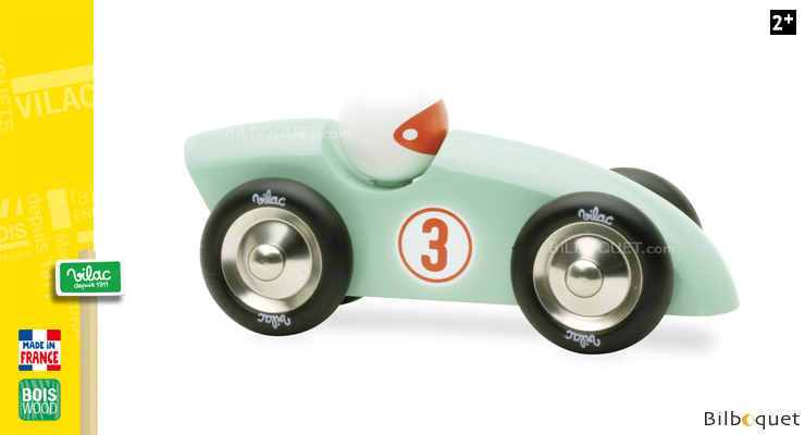 Competition Wooden Car - Mint Vilac