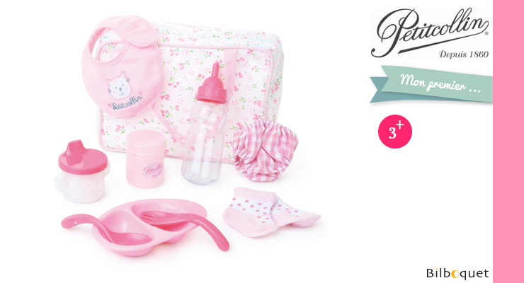 Baby Care Set - Accessories for dolls Petitcollin