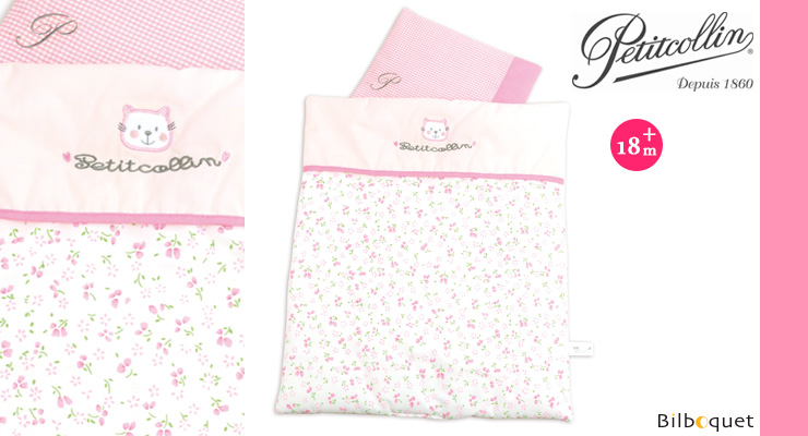 Quilt and pillow for doll up to 46cm Petitcollin
