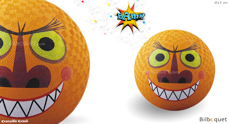 Orange Monster Small Playground Ball Ø13 cm Crocodile Creek