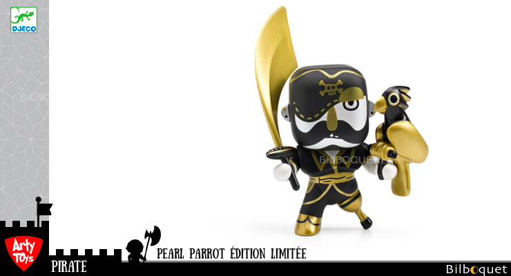 Pearl Parrot - Limited Edition - Arty Toys Pirates Djeco
