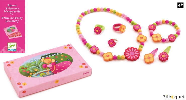 Daisy Princess Wooden Jewelry Djeco