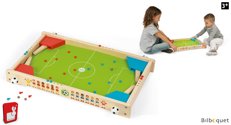 Flipper Foot Champions - jeu de football en bois Janod