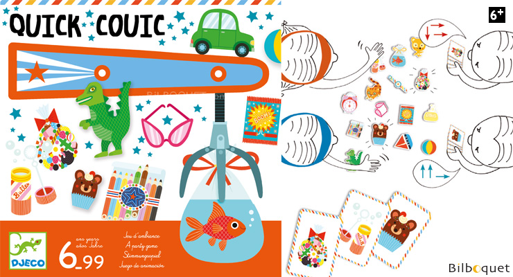 Quick Couic - Party Game Djeco