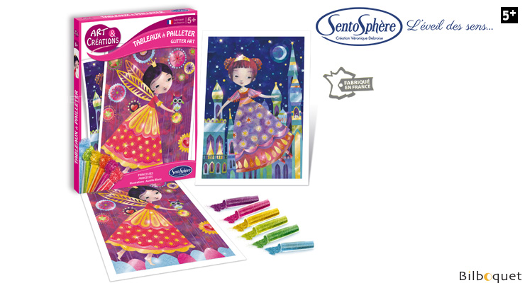 Glitter Boards - Princesses SentoSphère