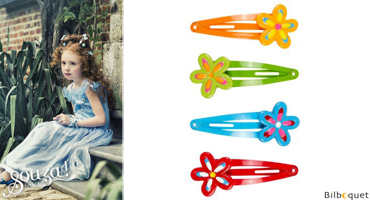 Set of 4 Janka Hair Clips - Accessory for kids Souza for kids