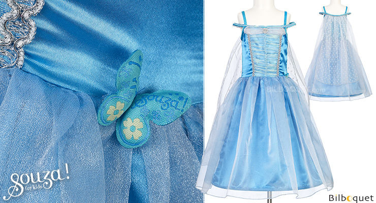 Blue Dress Lillina - Costume for Girl ages 5-7 Souza for kids