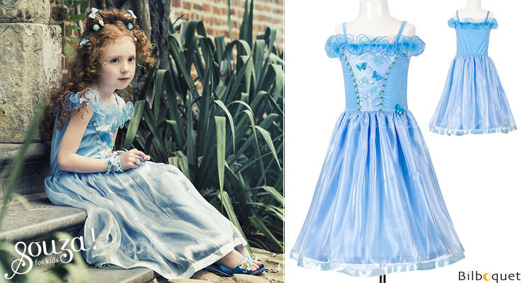 Blue Princess Dress Sylvianne ages 3-4 Souza for kids