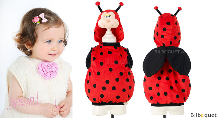 Lara Ladybird - Costume for toddlers age 2 Souza for kids