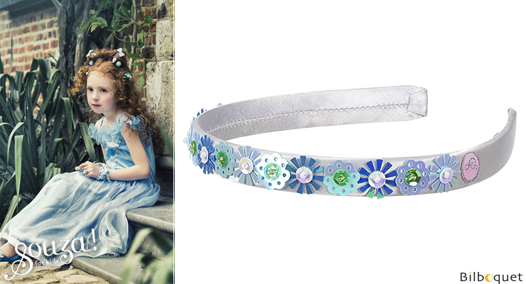 Tiara Irene, blue - Accessory for girls Souza for kids