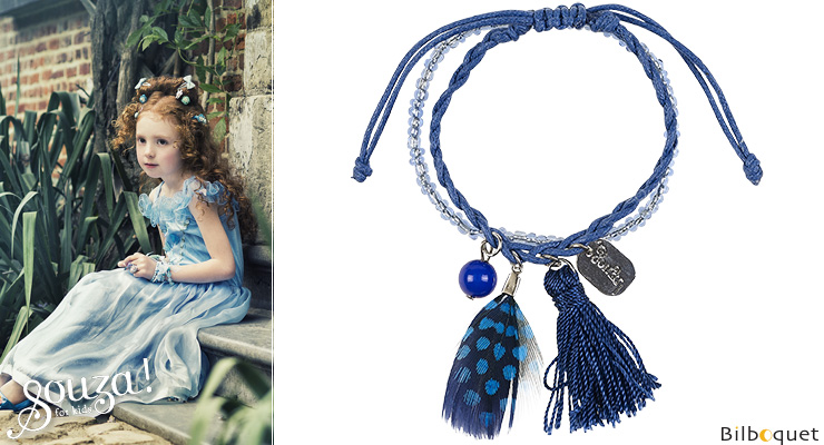 Chaira Bracelets navy blue - Kids Jewelry Souza for kids