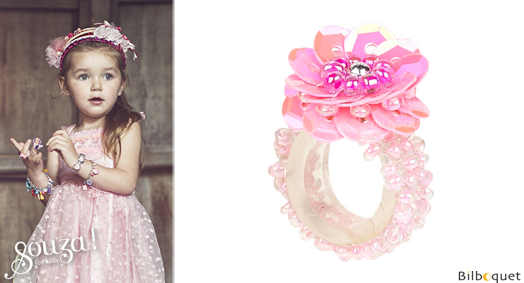 Jessy Ring - Pink - Kid's Jewelry Souza for kids
