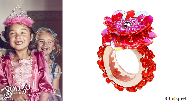 Jessy Ring - Red - Kid's Jewelry Souza for kids